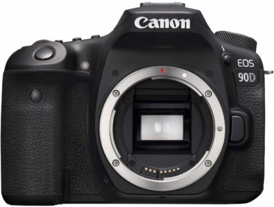 This is an image of a 90D body only Canon camera.