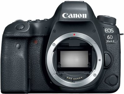 This is an image of a EOS 6D Mark II Canon camera.
