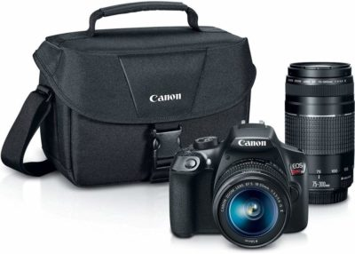 This is an image of a EOS Rebel T6 digital Canon camera kit.
