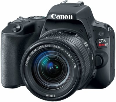 This is an image of a EOS Rebel Canon camera,