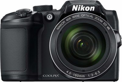This is an image of a COOLPIX B500 Nikon camera.
