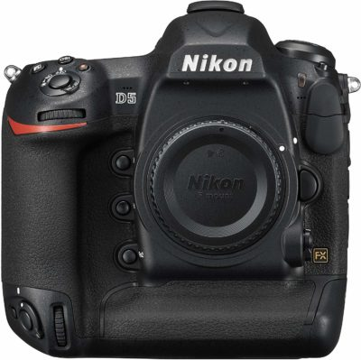 This is an image of a D5 Nikon camera.