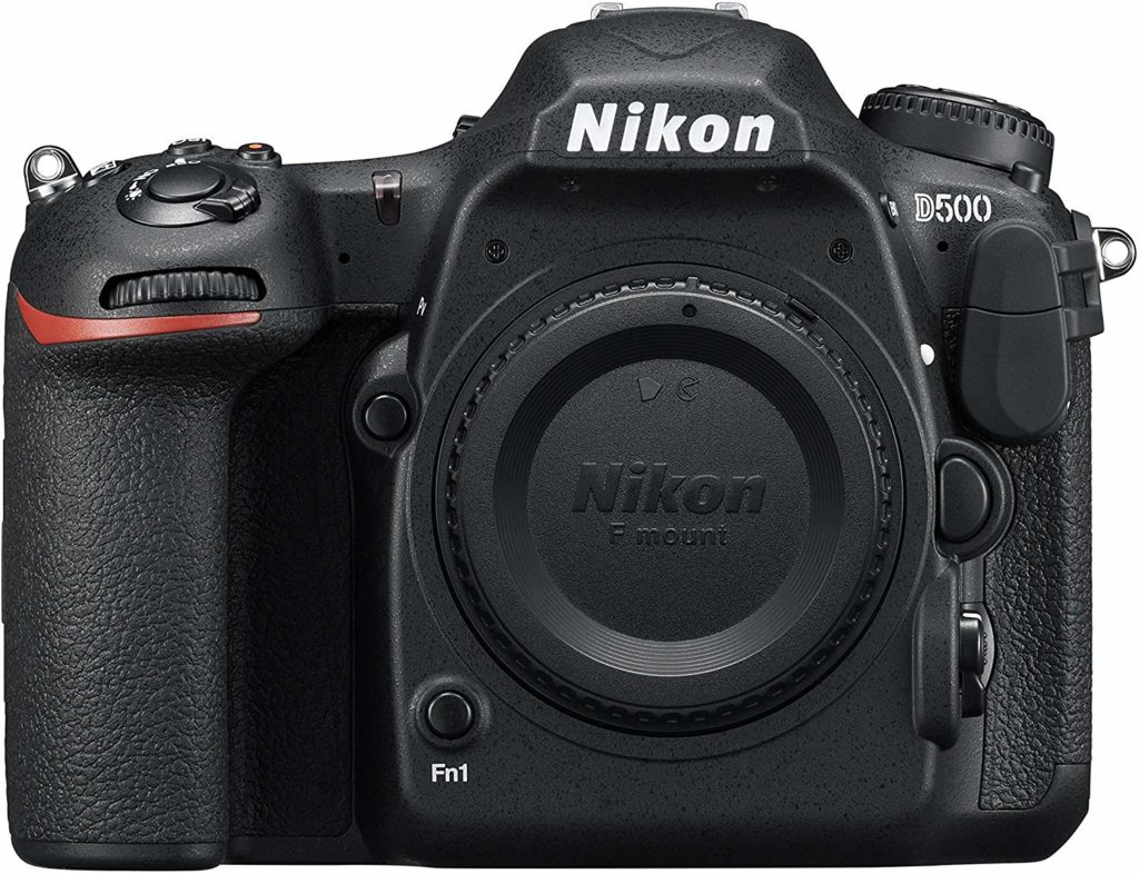 This is an image of a D500 body only Nikon camera.