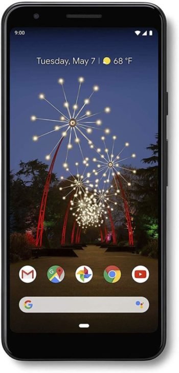 Image of Black Google - Pixel 3a with 64GB Memory