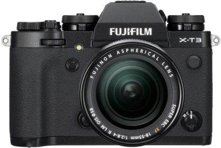 This is an image of 4. Fujifilm Mirrorless X-T3
