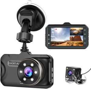 This is an image of Front and Rear Dash Cam