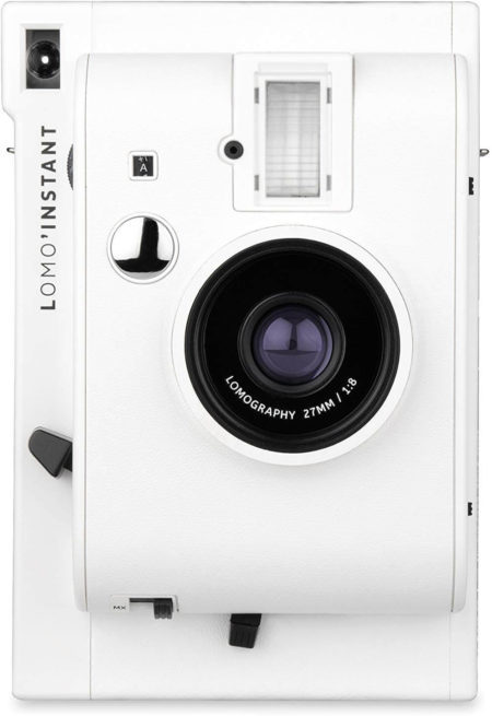 This is an image of White Lomography-LomoInstant Film Camera