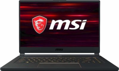 This is an image of a 15.6 inch GS65 Stealth by MSI.