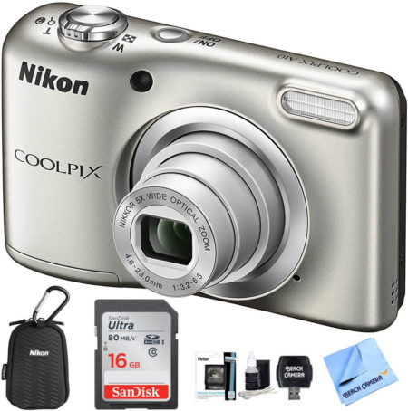This is an image of Nikon Coolpix A10 camera