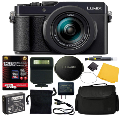 This is an image of Panasonic lumix DC pack in black color