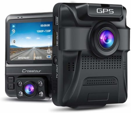 This is an image of Dual Lens Dash Cam