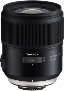 this is an image of tamron 35mm nikon lens