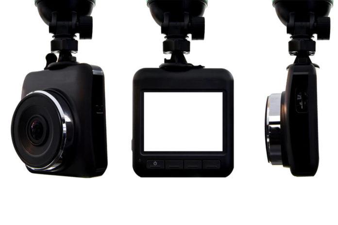 dash car camera, black