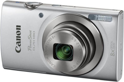 This is an image of Canon PowerShot ELPH 180 20 MP Digital Camera