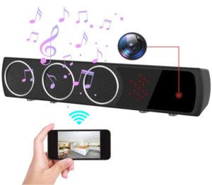 this is an image of the uooyoo hidden camera speaker