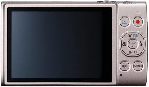 screen of the Canon PowerShot ELPH 360 Digital Camera