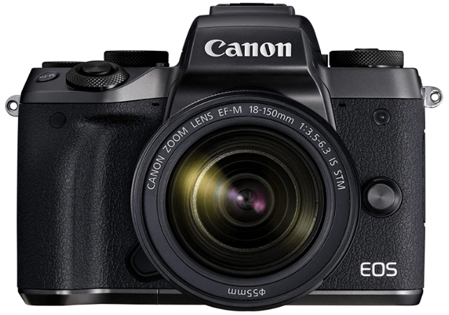 Canon EOS M5 Mirrorless Camera Kit EF-M 18-150mm f/3.5-6.3 IS STM Lens Kit - Wi-Fi Enabled & Bluetooth