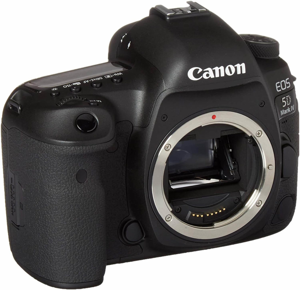 Canon EOS 5D Mark IV digital camera