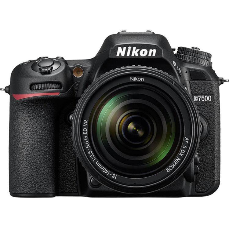 Nikon D7200 digital camera, black