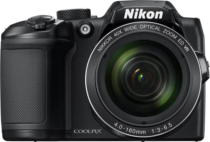 front image of the Nikon Coolpix B500