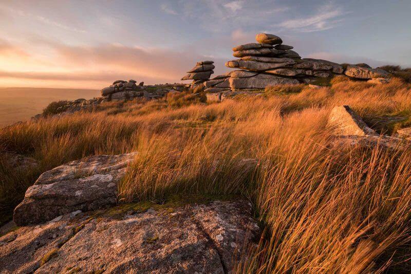 photo using Nikon D850 of a landscape at dusk