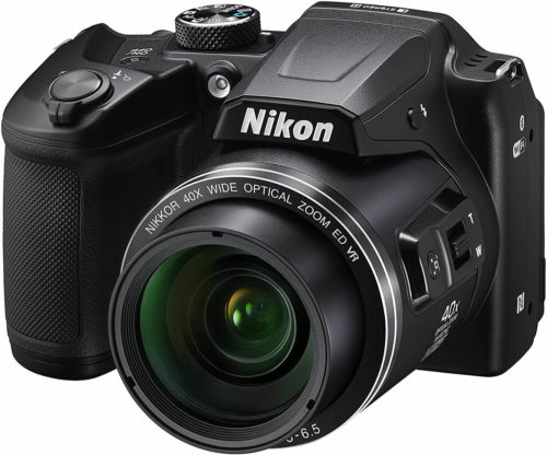 side view of the Nikon COOLPIX B500 Digital Camera
