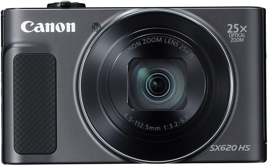 front view of the PowerShot SX620 HS Digital Camera (Black)