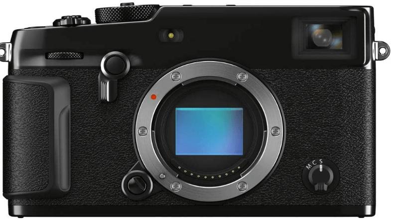 This is an image of a black Fujifilm X-Pro3 Mirrorless Digital Camera
