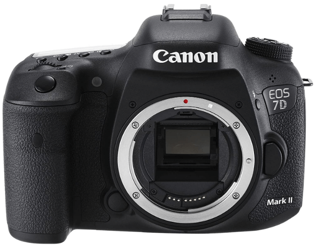 This is an image of a black Canon Full Frame Mirrorles digital Camera with 30.3 MP sensor