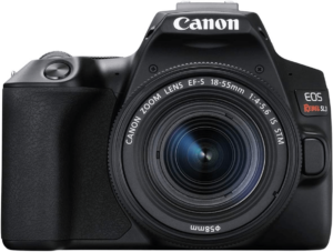 this is an image of the canon eos rebel sl3 camera