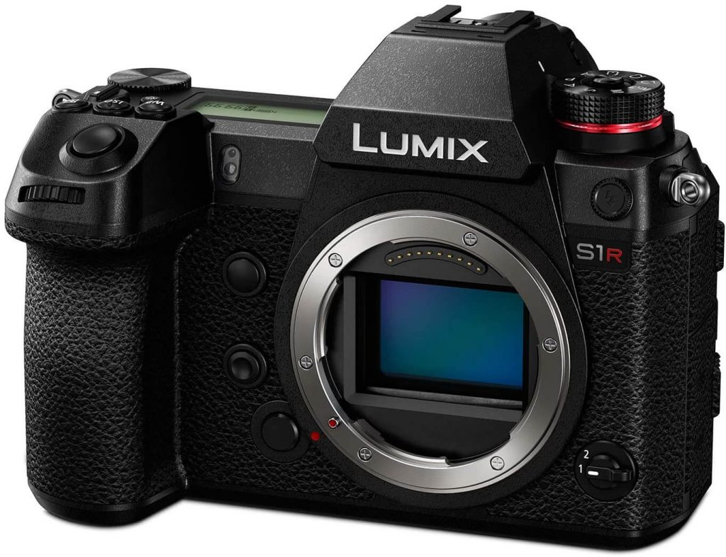 Panasonic Lumix S1R camera - Body only (front view)