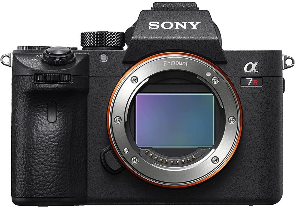Sony A7R IV picture body only, front view